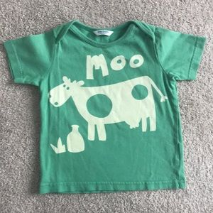 """Baby Boden """"Moo"""" T-Shirt (size 18-24m)"""